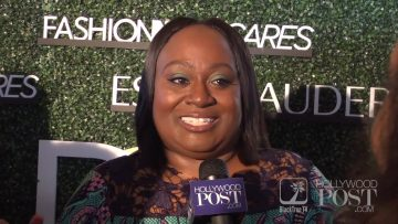 Koshie Mills on the red carpet at the International Women Of Power