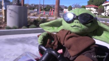 'Baby Yoda' gets coffee in a?
