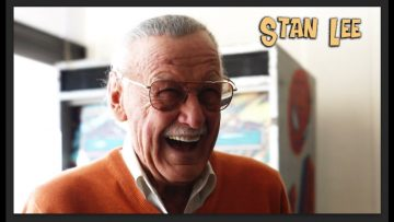 """Found footage of Stan Lee announcing """"World of Heroes"""" catching"""