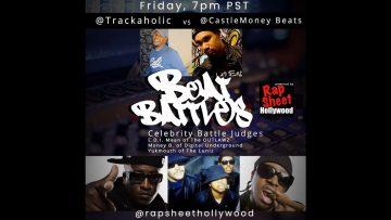 RSH Beat Battle EP#2 🔥🎵 ~Music Producers~CastleMoneyBeats Vs. @Trakaholiq