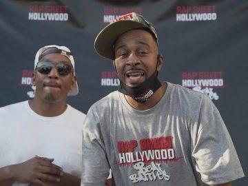 "Rap Sheet Hollywood Beat Battles Season 1 ""Rap"" Party Red"