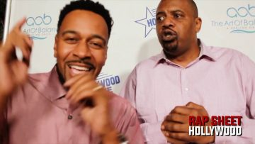 Slink Johnson Crippin On Red Carpet for Torrei Hart and