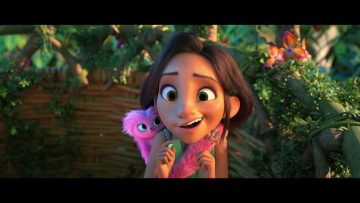 The Croods: A New Age – funny scene – Eep
